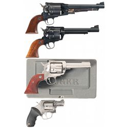 Four Revolvers -A) Ruger Old Army Percussion Single Action Revolver