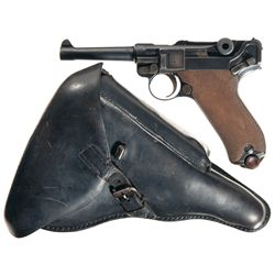 1913 Erfurt Luger http://www.icollector.com/Scarce-Erfurt-1913-Production-Luger-Pistol-with-Holster_i11724267