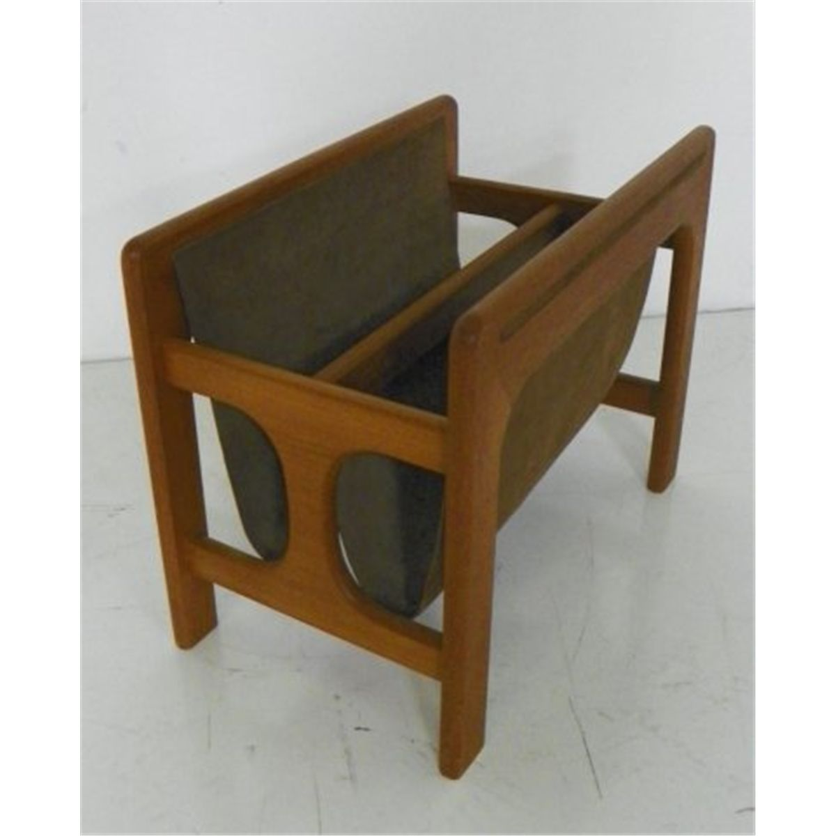 . danish modern magazine rack