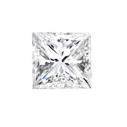 Genuine Princess Cut 0.20ctw Loose Diamond Color G to H, Clarity SI2