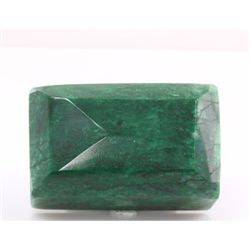 Natural Emerald Shape 100.67 ctw Emerald Beryl Gemstone 1 Emerald Cut Opaque Green