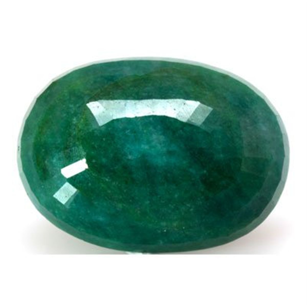 Green Gemstone Opaque Natural Oval Shape 109...