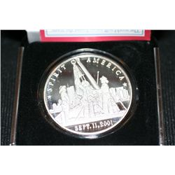 Spirit of America, Sept.11, 2001 Commemorative Silver Coin