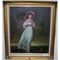 Oil on Canvas Painting Signed B. Doll.