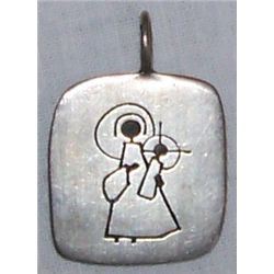 Religious Pendant from Personal Collection of Bing Crosby.