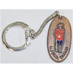 Canadian Keychain from Personal Collection of Bing Crosby.