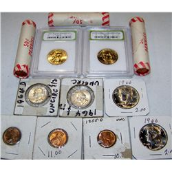 Multi-Piece Assorted Coins as Shown.