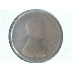 1910-S LINCOLN CENT (VERY GOOD)