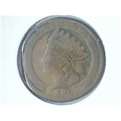 "1863 CIVIL WAR TOKEN ""NOT ONE CENT"""