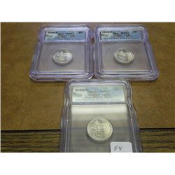 3- 2005-D OCEAN VIEW NICKELS ICG MS67