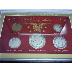 1910 COIN COLLECTION (AS SHOWN)