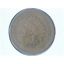 1879 INDIAN HEAD CENT (FINE)