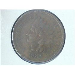 1880 INDIAN HEAD CENT (EXTRA FINE)