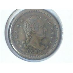 "1863 CIVIL WAR TOKEN ""UNION FOREVER"""