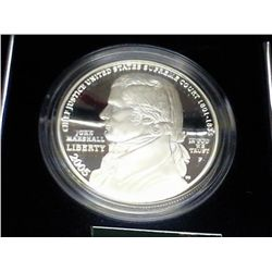 2005 CHIEF JUSTICE MARSHALL PF SILVER DOLLAR