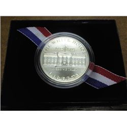 1992 WHITE HOUSE UNC SILVER DOLLAR