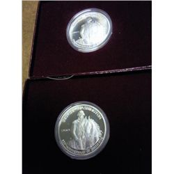 2-1982-S WASHINGTON COMMEMORATIVE HALVES PF
