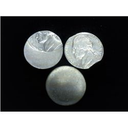 JEFFERSON NICKEL ERROR TRIO