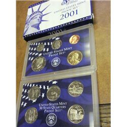 2001- US PROOF SET (WITH BOX)