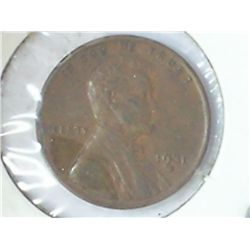 1931-D LINCOLN CENT (EXTRA FINE)