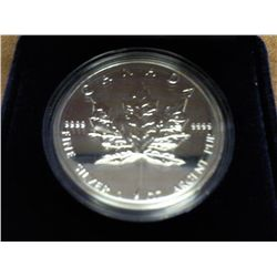 1994 CANADA $5 SILVER MAPLE LEAF (PF LIKE)