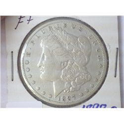 1897-O MORGAN SILVER DOLLAR