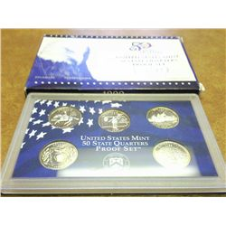 1999 US 50 STATE QUARTERS PROOF SET