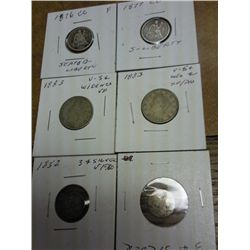 6 COINS SEE FULL DESCRIPTION