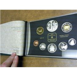 2002 CANADA PROOF SET ALL STERLING SILVER EXCEPT