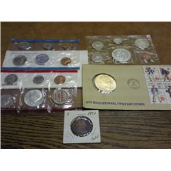 1962 SILVER CANADA (PF LIKE) SET, 1970 US MINT SET