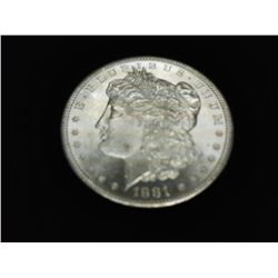 1881-S MORGAN SILVER DOLLAR (PF LIKE)