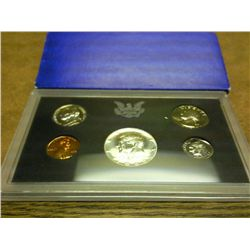 1969 US PROOF SET (WITH BOX) 40% SILVER HALF