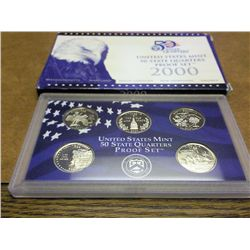 2000 US 50 STATE QUARTERS PROOF SET