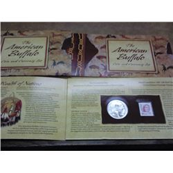 2001 AMERICAN BUFFALO COIN AND CURRENCY SET