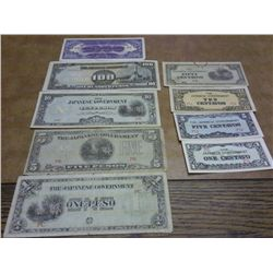 9-JAPANESE INVASION CURRENCY