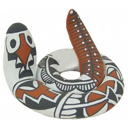 Jemez Pottery Snake - Mary Small
