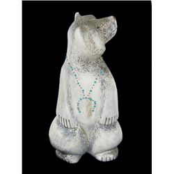 Bone Bear Carving - Claudia Peina