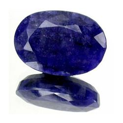 10+ct. Rich Royal Blue African Sapphire Oval Cut (GMR-0033A)
