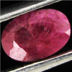 0.7ct African Ruby Oval (GEM-41086)