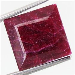 122.88ct African Ruby Square Cut (GEM-37102)