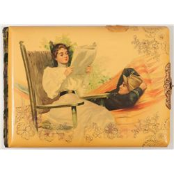 Spanish American War Celluloid Cover Photo Album