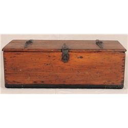 Ship Carver's Wooden Tool Box