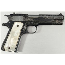 Engraved Colt 1911 Ace .22 FFL