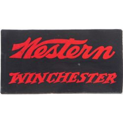 Western Winchester Countertop Advertising Felt