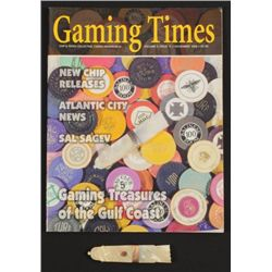Poker Cheat Mother of Pearl Needle Quiver