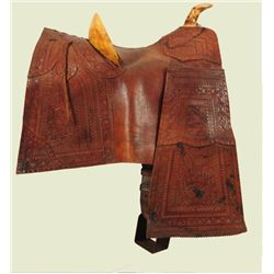 Fine Early California Mexican Saddle