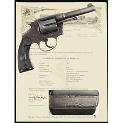Wells Fargo Colt Police Positive .38 Special