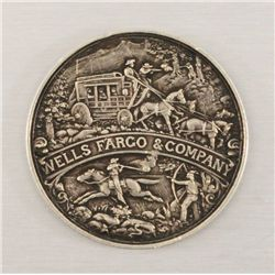Wells Fargo Commemorative Medal 1852-1902