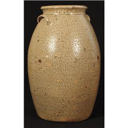 Signed JR 6 Gallon Texas Stoneware Jar