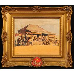 Judge Roy Bean Pearl Beer Sign